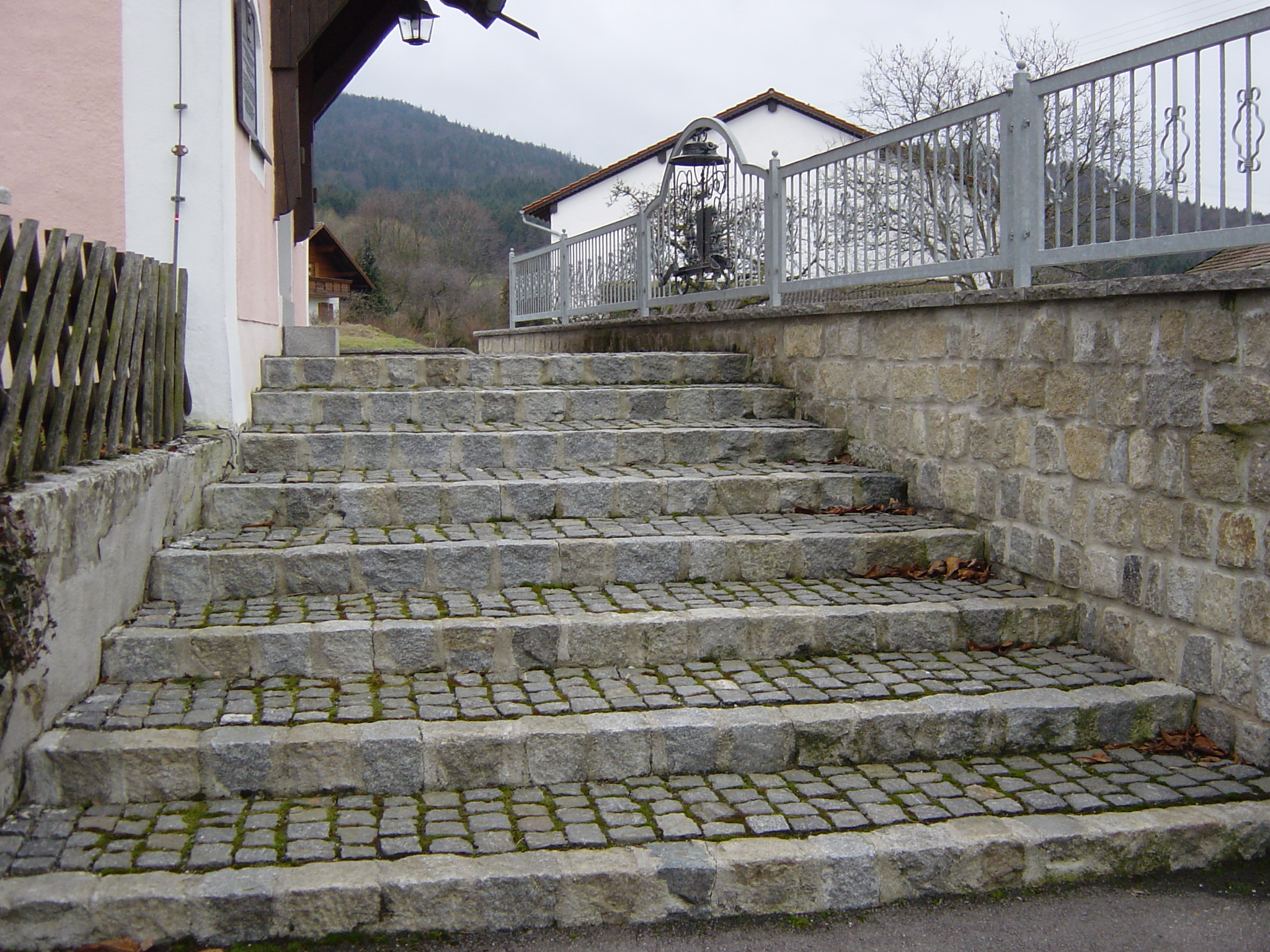 Pflastertreppe